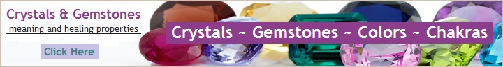 Learn about Crystals and Gemstones at Crystals-Gemstones-Colors-Chakras