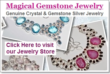 Magical Gemstone Jewelry - Handcrafted Designer Gemstone Silver Jewelry Store