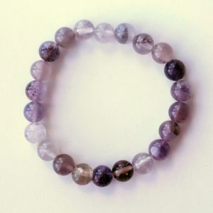 Auralite-23 Crystal Bracelet – 8 mm Beads