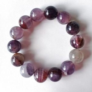 Auralite-23 Crystal Bracelet – 14 mm Beads