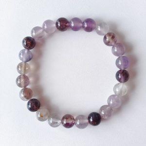 Auralite-23 Crystal Bracelet – 8 mm Beads