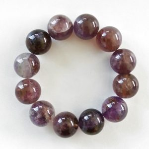 Auralite-23 Crystal Bracelet – 16 mm Beads