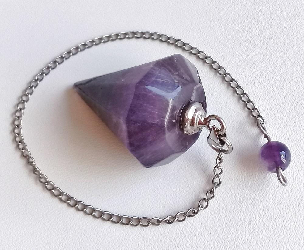 Auralite-23 Crystal Dowsing Pendulum