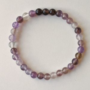 Auralite-23 Crystal Bracelet – 6 mm Beads