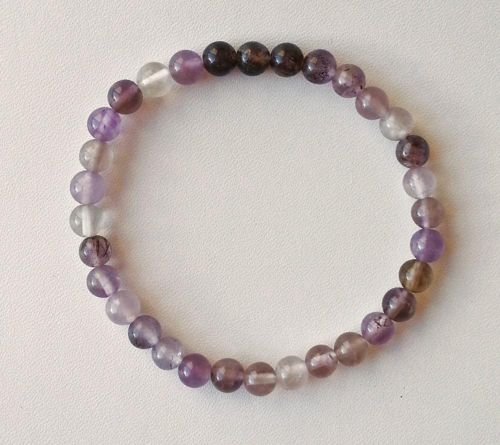 Auralite-23 Crystal Bracelet – 6 mm Beads