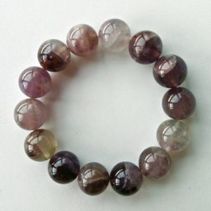 Auralite-23 Crystal Bracelet – 14 mm Beads