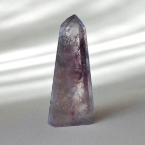 Auralite-23 Crystal Mini Hexagonal Obelisk