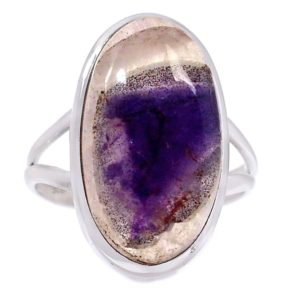 Auralite-23 Crystal 925 Sterling Silver Ring