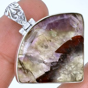 Auralite-23 Crystal 925 Silver Pendant